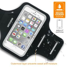 When's the last time you've seen a water-resistant smartphone armband for $2.99? Our guess is probably never, so take advantage of while it lasts! No one likes working out or going out for a jog holding