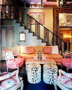 22 Modern Rustic Bohemian Living Room Design Ideas Home Decoration Living Room Green, Chic Living Room, Home And Living, Living Rooms, Modern Living, Living Spaces, Luxury Living, Home Design, Interior Design