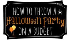 How to Throw a Halloween Party on a Budget through great deals and ideas found at your local Dollar Tree Lion Halloween, Halloween Toys, Halloween Crafts For Kids, Halloween Season, Halloween Christmas, Vintage Halloween, Holiday Crafts, Holiday Fun, Happy Halloween