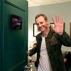The devilishly handsome, the phenomenally talented Michael Fassbender!