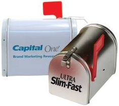 Promotional products - Mail Box Tin with your company logo.