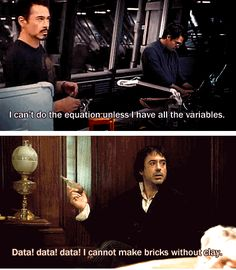 Sherlock Holmes is Tony Stark's great-great grandfather. HEADCANON: ACCEPTED! <--- This is so believable tho...