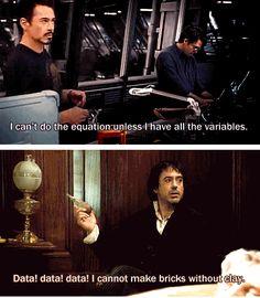 Sherlock Holmes is Tony Stark's great-great grandfather. HEADCANON: ACCEPTED!