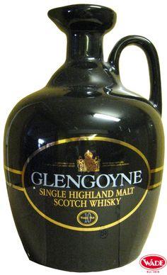 Glengoyne Scotch Whisky Ceramic Flagon.