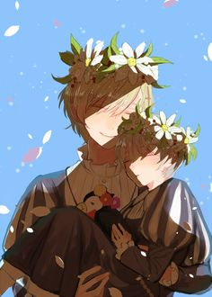 Pixiv Id 3365816, Axis Powers: Hetalia, Norway, Mr. Puffin, Iceland, Princess Carry