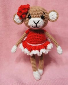 Mesmerizing Crochet an Amigurumi Rabbit Ideas. Lovely Crochet an Amigurumi Rabbit Ideas. Crochet Monkey, Cute Crochet, Crochet For Kids, Crochet Dolls, Crochet Baby, Crochet Animal Patterns, Amigurumi Patterns, Amigurumi Doll, Monkey Pattern