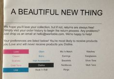 Wantable Accessories Subscription Box Review – August 2014