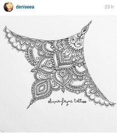 Simple mandala sternum tattoo images in collection) page 1 Sternum Tattoo Design, Tattoo Designs, Underboob Tattoo, Henna Designs, Cover Up Tattoos, Love Tattoos, Tattoo Drawings, Small Tattoos, Tattoos For Women
