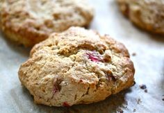 Get recipes for Rhubarb-Quinoa Salad, Strawberry-Rhubarb Hand Pies, Rhubarb Scones, Rhubarb Compote and A Boozy (Or Not) Rhubarb Cocktail.