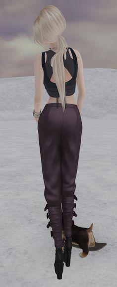 https://flic.kr/p/Fzf142 | Ascend Harem pants Eclipse top2 | .LeLutka.Mesh Head-SIMONE 1.5 //Ascend// Inga Harem Pants - Slate purple [Maitreya Lara] DeeTaleZ Mesh BEAUTY MOLE ED. Asia Top Maitreya Black (Eclipse Designs) IKON Triumph Eyes (left) - Dune IKON Triumph Eyes (right) - Dune Jian :: Silly Shibes - Skater Pup RARE LUXE. Vivian Collar Black LUXE. Vivian Cuff Black (L) Maitreya Mesh Body - Lara V3.5 Vanity Hair:Street Style(F)(MAT)-Blonds _CD_ Jennie Black - Maitreya Medium Feet