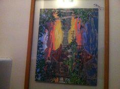 Mi pintura casa de campo
