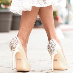 Shoes by Badgley Mischka  #losangeles #heels #shoes #badgleymischka