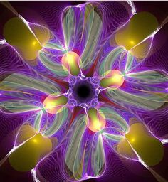 Fractal Flowers by Dazy-Girl pinned with Bazaart