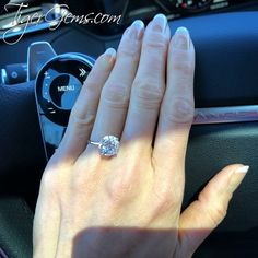 Circle Engagement Rings, Round Solitaire Engagement Ring, Circle Diamond Rings, Diamond Cuts, Dream Ring, Diamond Are A Girls Best Friend, Beautiful Rings, Wedding Rings, Classic