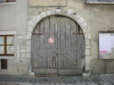 Grey Old Door