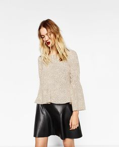 POLKA DOT TOP-View all-TOPS-WOMAN | ZARA United States