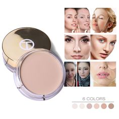 Beauty & Health O.two.o 12 Colors Concealer Palette Makeup Invisible Pore Wrinkle Cover Concealer Foundation Brightener Makeup Full Cover No
