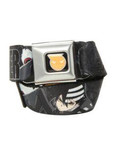 Soul Eater Death The Kid Seat Belt Belt