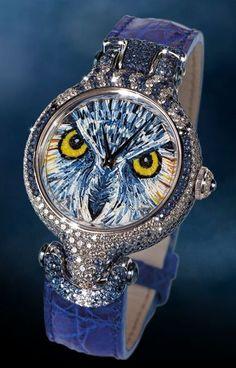SICIS Nano-Mosaic Sapphire Glass Watches #AnimalierCollection #SICIS #Mosaic…