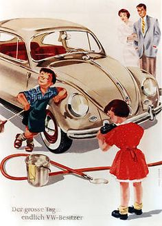 VW ad targeting middle income customers