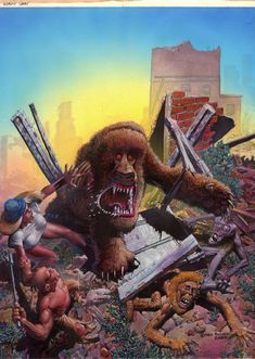 richard corben - mutant world Comic Book Artists, Comic Artist, Comic Books Art, Fantasy Comics, Fantasy Art, Heavy Metal, Jordi Bernet, Post Apocalyptic Art, Sword And Sorcery
