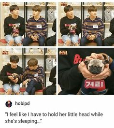 Just in case you didnt already think J-Hope was the cutest person ever...