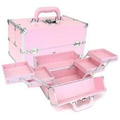 The ultimate pink makeup case, if you can't fit all of your makeup in this then you have far too much makeup! $52