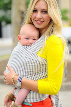 So excited! i just ordered this! Solly baby is light weight, breathable and much more stylish compared to the Moby Wrap. It will be perfect for this south Texas heat:)