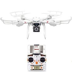 GoolRC X101 WIFI FPV Drone with Camera Live Video HD 720POne Key Return Headless Mode 3D Flips WIFI Quadcopter Compatible with 3D VR Headset