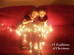 My Crazy Blessed Life: Family Christmas traditions - good ideas