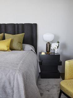 Sydney Apartment — POCO DESIGNS Dream Apartment, Luxury Living, Bed Spreads, Living Room Designs, Sydney, Furniture, Quilting, Home Decor, Decoration Home