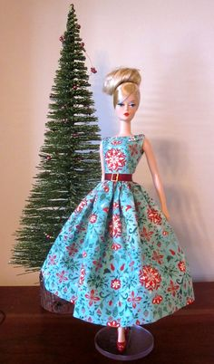 Scandinavian Christmas Day Dress by Bellissimacouture on Etsy