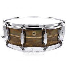 Ludwig Supraphonic Raw Brass Snare Drum 14x5