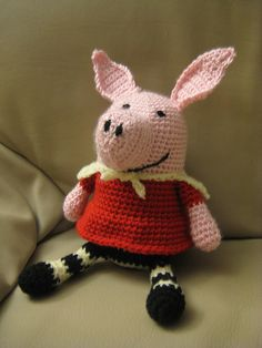 An Olivia the Pig I made up for my niece Olivia!