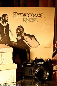 Fleetwood Mac - Rumours. One of my most favorite albums of all time. Cool picture.