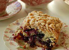 Blueberry Burst Crumb Cake – Cozycakes Cottage