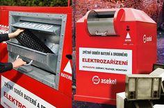 Na Plzeňsku vedeme v třídění elektroodpadu