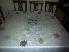 Çiçek bahcesi Fiskos masa