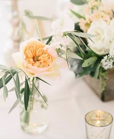 Table Scape. Garden Rose. Photo: @aprilkphoto.