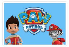 PAW Patrol Clip Art | Paw Patrol logo Ryder & Marshal + Paw Patrol Logo Picture Here!