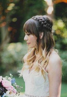 Penteados informais para noivas deliciosamente modernas [Foto]