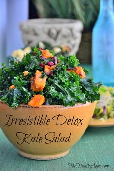 Some Super Deep Thought and An Irresistible Detox Kale Salad #glutenfree