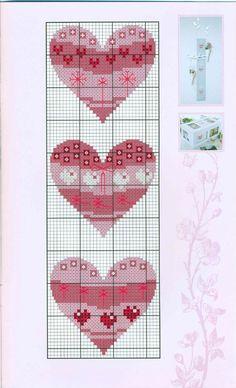 Points de croix *♥* Cross stitch Heart