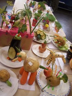Fruit & Vegetable Animals!