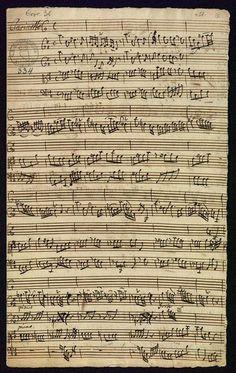 Concerto en Re maior (MWV 6.38) para clarinete en Re, cordas e continuo. Composto por Johann Melchior Molter entre 1742 e 1765.