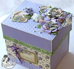 How to Create a Storage Box From Scrap Chipboard