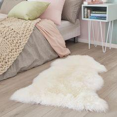 en peau de mouton Tapis Très Doux Soyeux Fard à joues rose laine 2 Genuine Australian DOUBLE