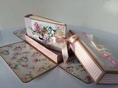 álbum feito por Flora Machado para workshop que decorreu na Crafty - Papers & Company