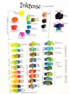 South Carolina LowCountry Nature Journaling and Art: Inktense Watercolor Pencils