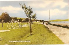 Shaldon Park / St Georges Playing Field - original postcard circa 1960's - 70's. Saint George, Devon, Country Roads, Park, The Originals, Parks